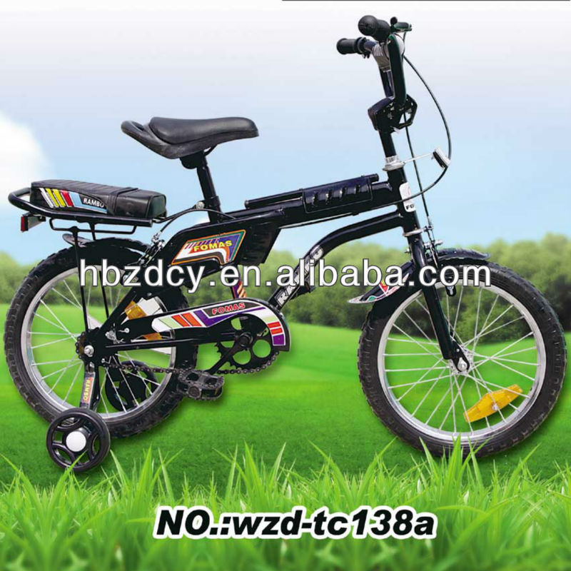 2014 cool pit bike with back seat and side wheels for Middle East market