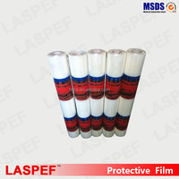 2016 hot sale big roll clear film, logo printable plastic sheet protective films for ACP