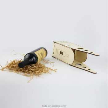SLTJ006 Wooden gift box for wine bottle