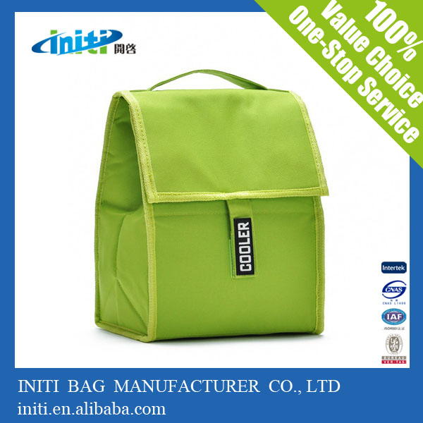 high quality insulated lunch cooler bag with velcro closure