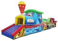Factory Outlet pvc cheap inflatable toys tunnel rental