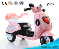 Xinchuangyi kids electric motorcycle mini cartoon pedals motorcycle pull back motor bike