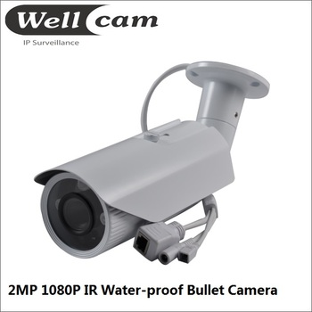 FULL HD 1080P IR Bullet network IP camera, IP 66 with lens