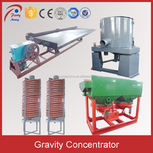 China Hot Sale Gravity Gold Ore Separating Machine