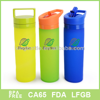 2016 New Eco Squeeze Silicone Water Bottle