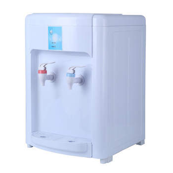 japan home square personal desktop plastic pipeline hot and cold drinking electric mini water dispenser