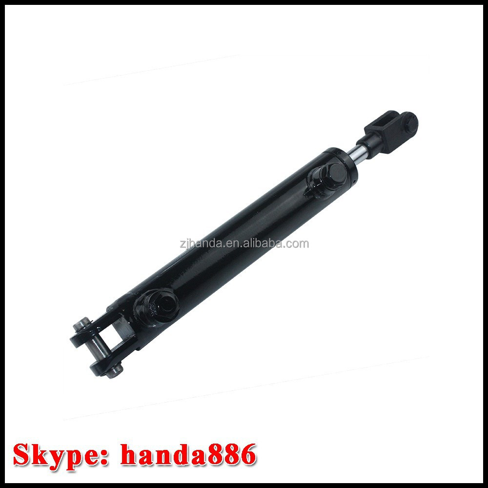 Weld Type Hydraulic Cylinders : High quality welded double earring hydraulic type rod