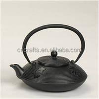 Wholesale cast iron teapot top quality Chinese thick cast iron tea pot