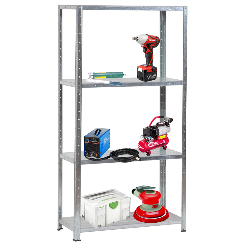 Powder Coated direct manufacturer tool standing metal shelving storage <strong>rack</strong>/high quality KD goods shelf