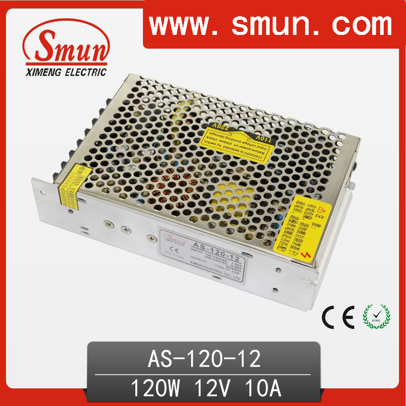 Mini Size Small Volume 120W 12V 10A Switch Power Supply