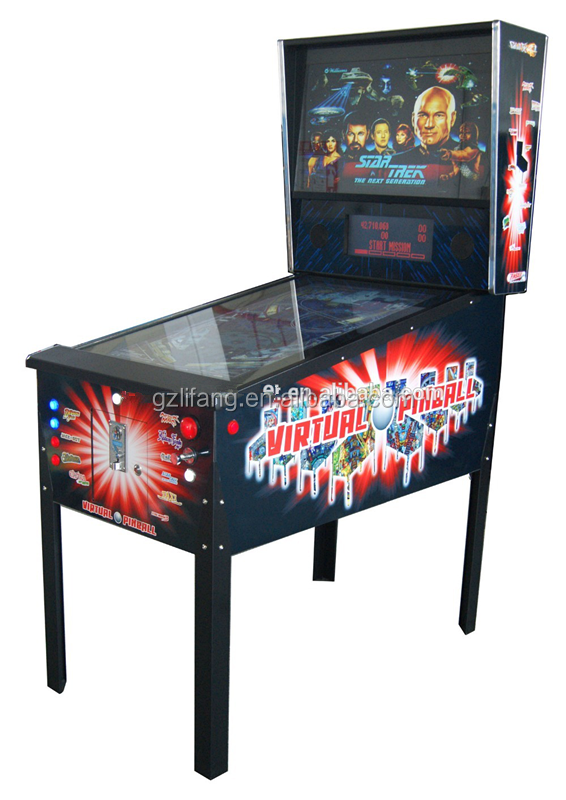 arcade coin pusher pinball machine gambling pinball machine