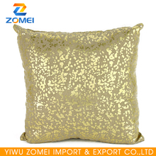 Popular Gold linen Throw Pillow with Texture 45*45cm