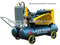 Low consumption Big mineral high pressure paintball air compressor