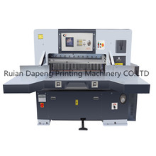 QZYK1150D-8 Program control double hydraulic A1 A2 A3 A4 Sheet Paper Cutting Machine With Double Guide