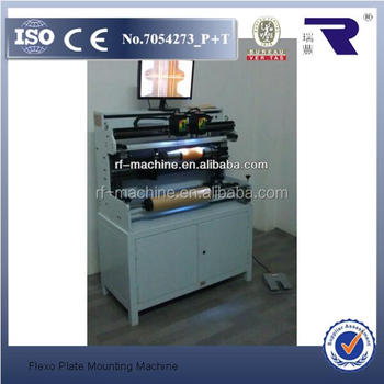 Made In China Flexo Print Plate Mounting Machine Price