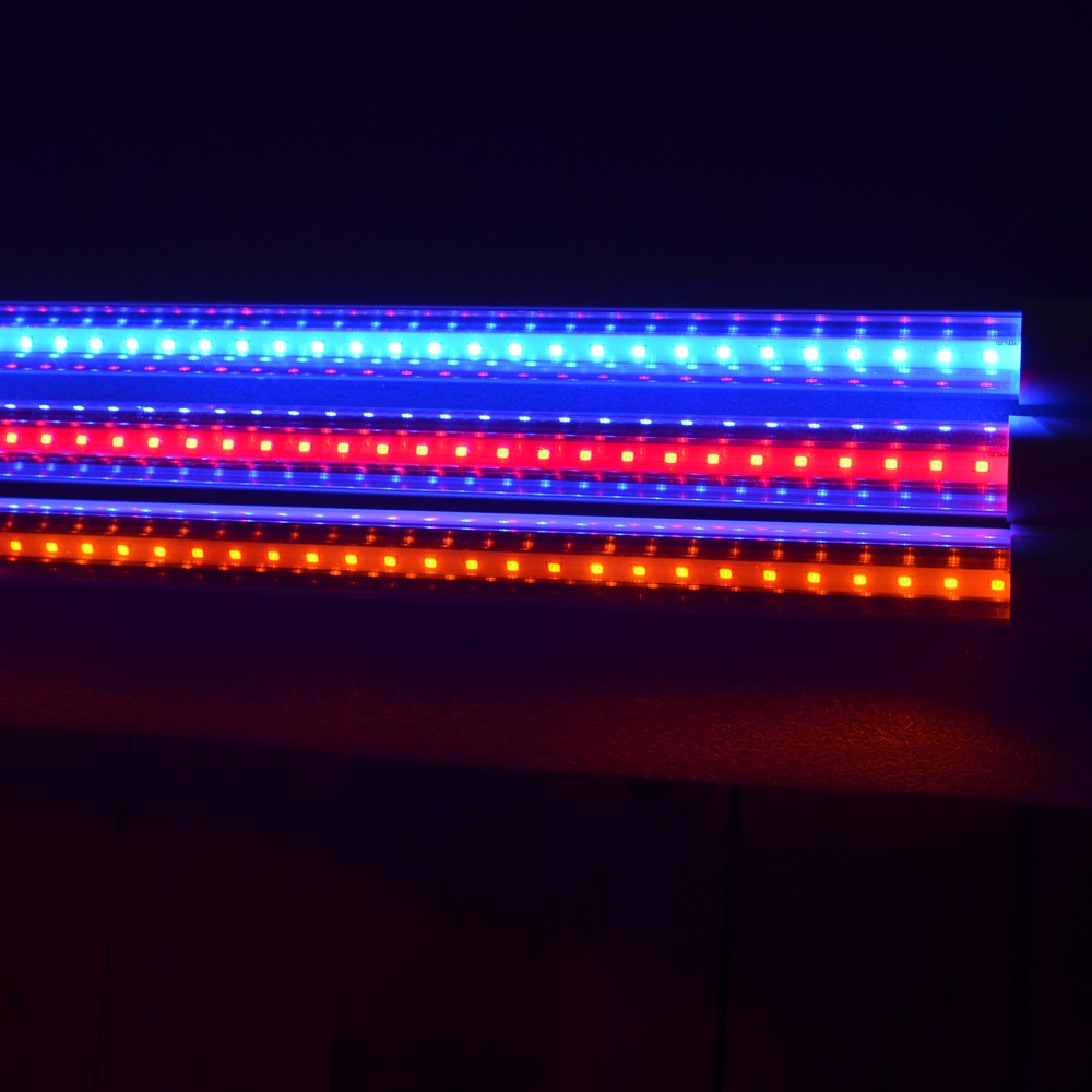IP65 Red color T8 1.2M 18W LED tube LED aquarium light