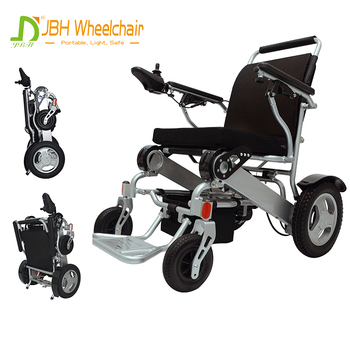 Cheap price economic aluminum handicapped lightweight portable electric wheelchair folding power wheelchair for disabled
