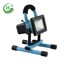 Rechargeable portable outdoor floodlight project lamp 10w Led Flood Light