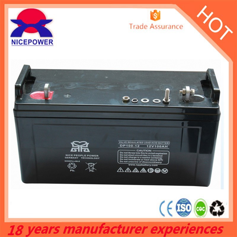 12v 100ah lead crystal battery for solar energy
