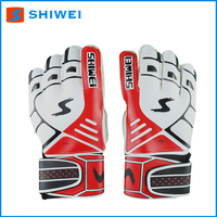 Shiwei custom made american football gloves with 5 colors