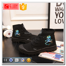 Top selling printed men shoes high neck foot wear