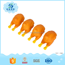 new design small chicken pet toy for dog playing