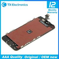 replacement parts cell phone lcd for iphone 5g 3.5 inch screen