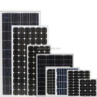 12v 24v 65w 100w 150w 250w 300w monocrystalline solar panel low price