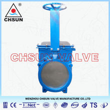 Vaas Waste Water Cast Steel Handwheel Knife Gate Valve
