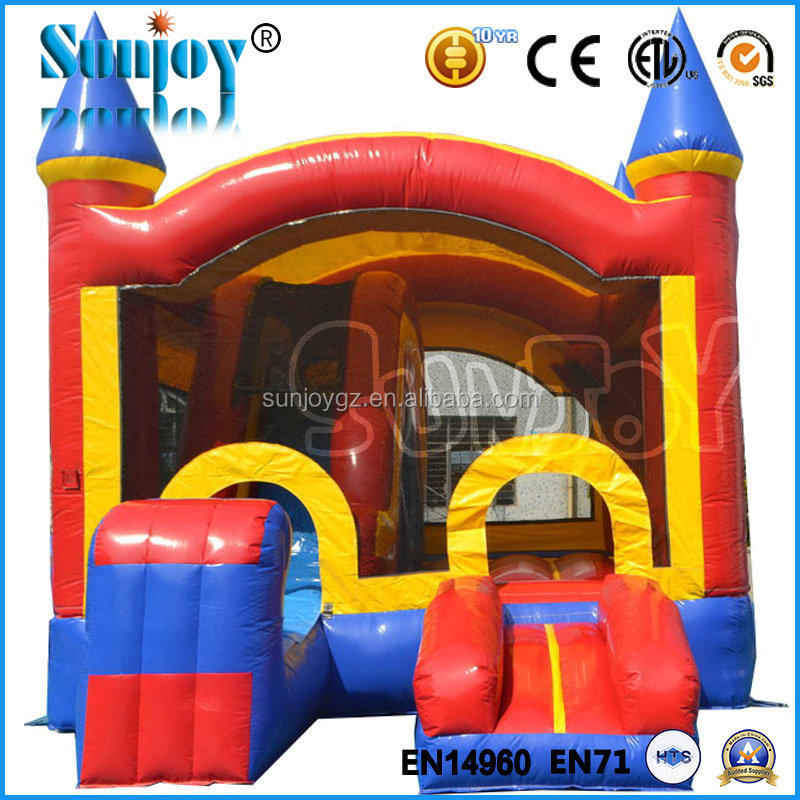 Cheap Custom Guangzhou China Bouncy Castle Themed Inflatable Toys Kids Just Fun Inflatables Castle Inflatable Wholesale