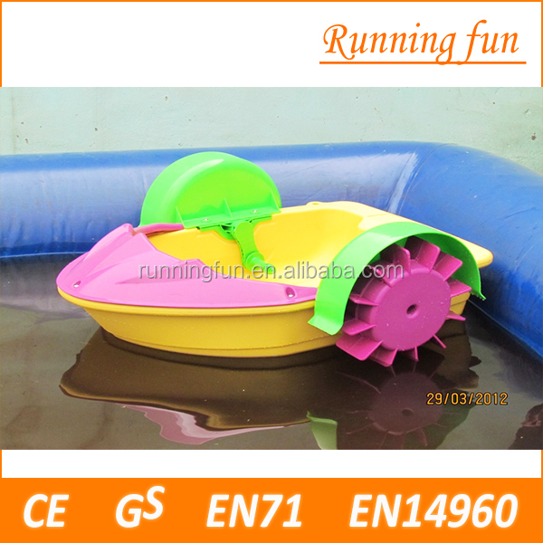 Promotion Mini Hand Paddle Boat For Kids,kids aqua boats