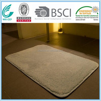 hot selling anti slip polyester shower mat