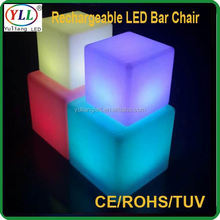 3w mini 3d led cube led lighting seating seat leon led light seat leon led light