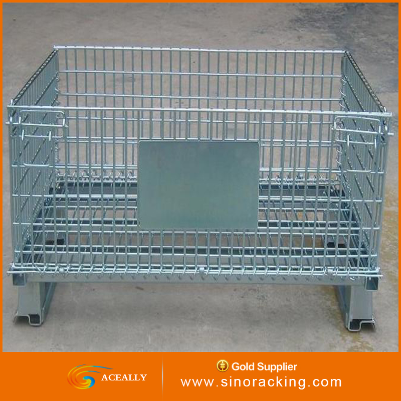industrial stainless steel storage cage