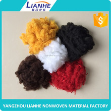 manufacturing plant recycled polyester staple fiber for open end spinning