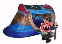 Kids Fordable Pirate Boat tent For camping