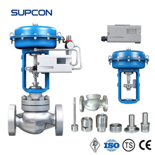 SUPCON Control Valve Low Noise Cage Guided Pneumatic Valve (O-ring + PTFE)
