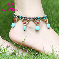 Latest Design Fancy Calaite Foot Jewelry