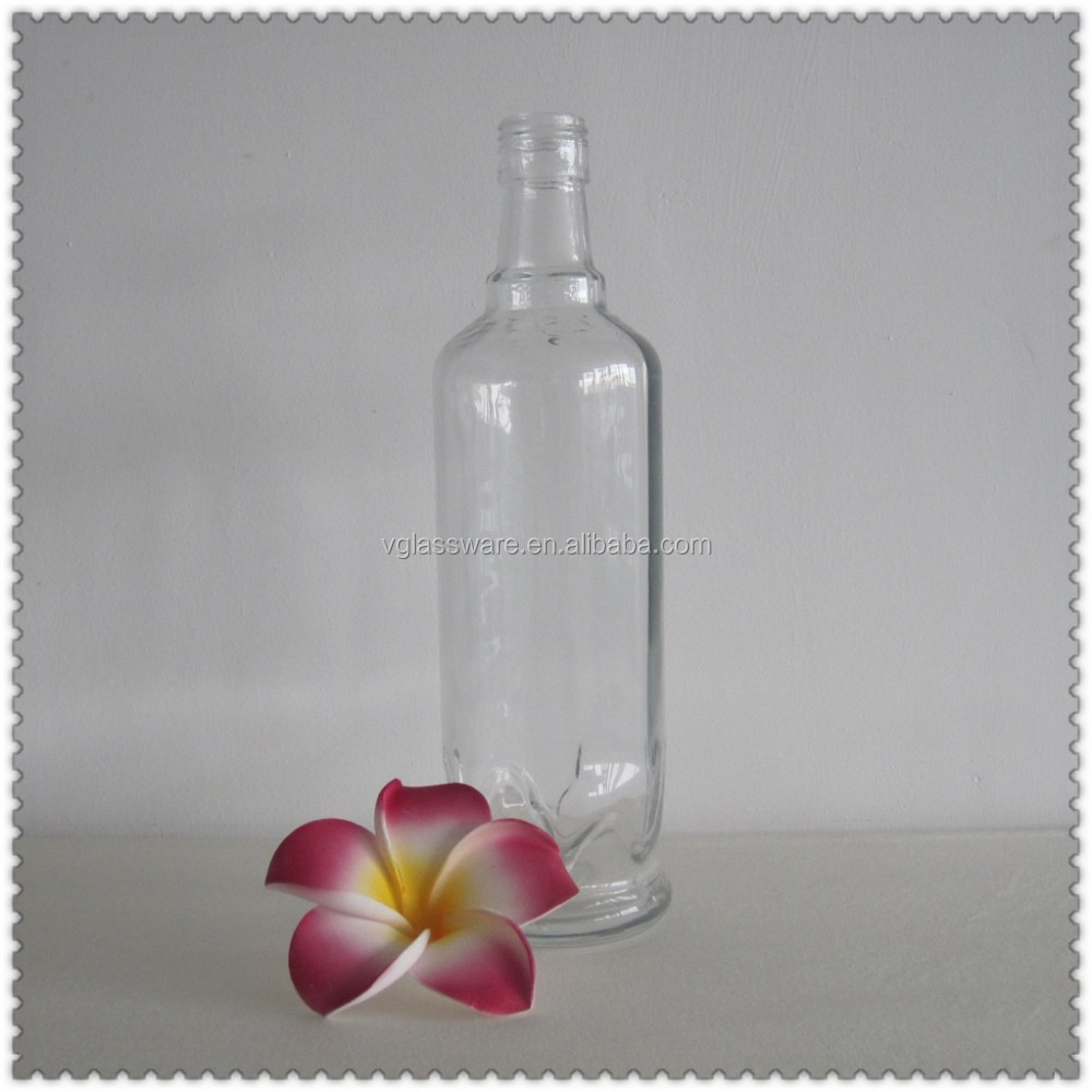 Glass bottles for maple syrup glass bottle with cap