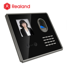 fingerprint and face recognition attendance biometric time clocks (Realand F381)