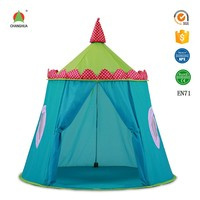 new popular design tent kids wooden children play house