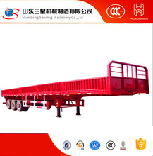 Customized Side Wall Open Semi-Trailer Tractor Trailer Price Bulk Cargo&Agricultural Goods
