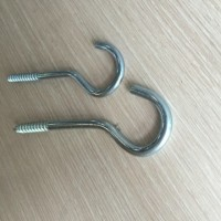 cup decorative screw hooks galvanized