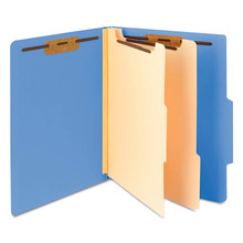 Pressboard Classification File Folder with Wallet Divider