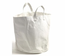 Factory wholesale super market shopping tote cotton canvas bag