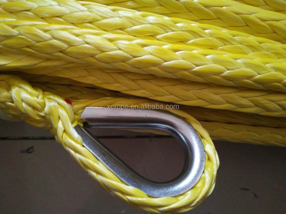 HMPE Mooring Rope with All IACS certificates for ship