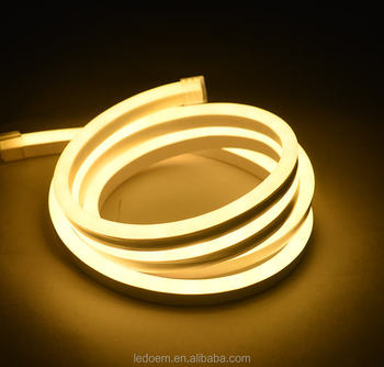 High quality customized 50m roll UV resistant rope light led neon flex