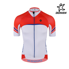 Digital sublimation printing short sleeves cycling jersey bicycle clothing