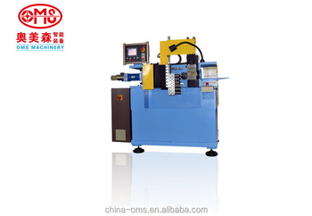 pipe end forming machine with flinging mode