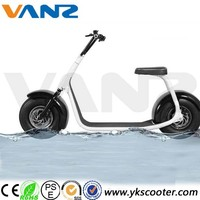 Fashion City Bike 2016 New Arrival City Scooter, 60V Lithium Battery Two Wheels City Bike Scooter Electric Motorcycle